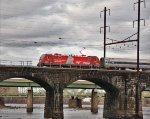 AMTK 606 on train  99